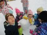 雪遊び大好き?